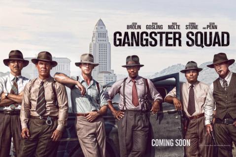 Gangster Squad el-grupo_Poster dibujo