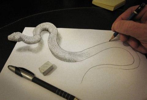 3D-Pencil-Drawings