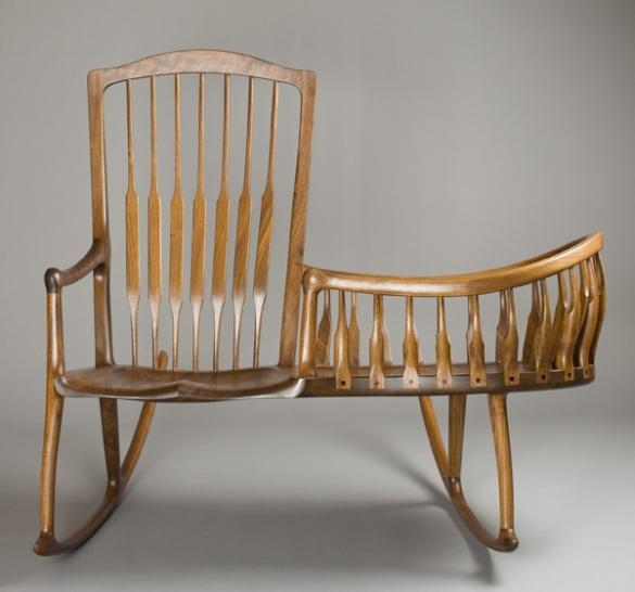 modern rocking chair plans