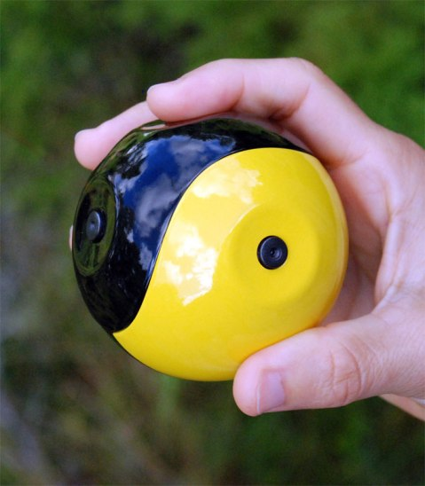 Throwable-ballshaped-camera